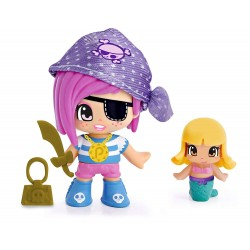 Pinypon Piratas y Sirenitas - Pañuelo Violeta