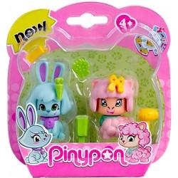 Pinypon mascotas – Conejo y oveja