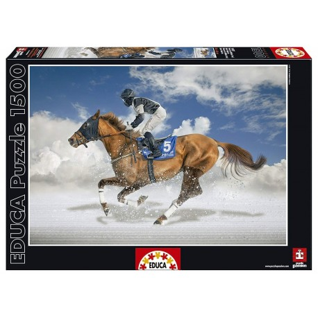 Puzzle Final White Turf - 1500 pcs