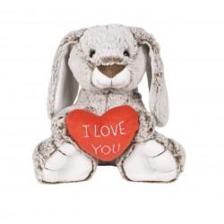 Conejo Corazón 28 cm famosa (16413)