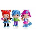 Piny pack 3 figuras - Michelle, Rita y Sam