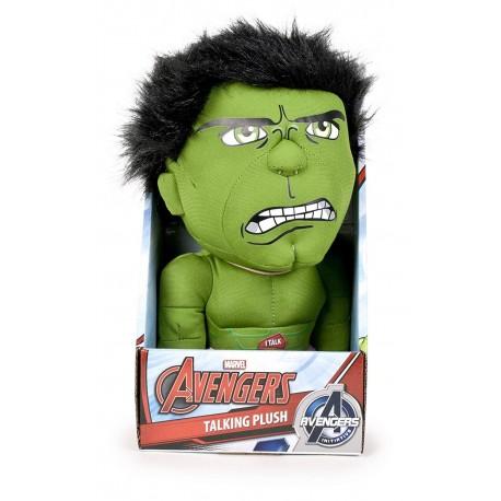 Hulk peluche con sonidos 25 cm