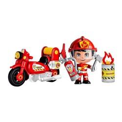 Pinypon Action - Moto de bombero