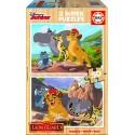 Puzzle madera La Guardia del León - 2x50