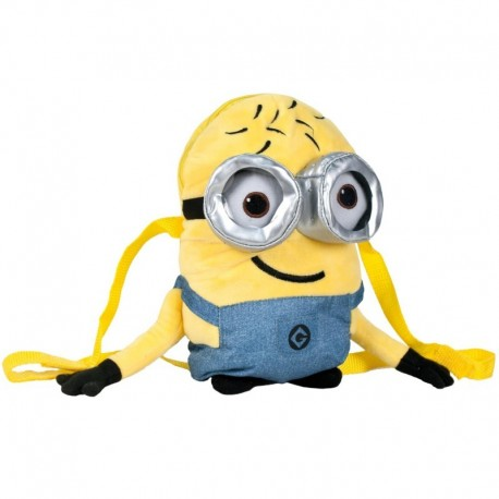 Mochila Minions 32 cm Deluxe - Bob 3D B