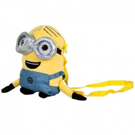 Mochila Minions 32 cm Deluxe - Bob 3D A