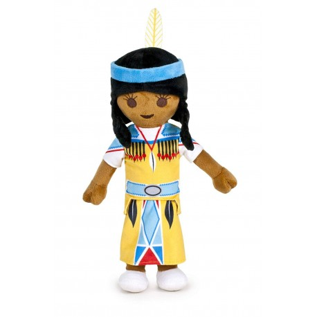Peluche Chica India 30cm - Playmobil