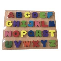 Puzzle Madera letras