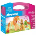 Playmobil maletín princesa con caballo