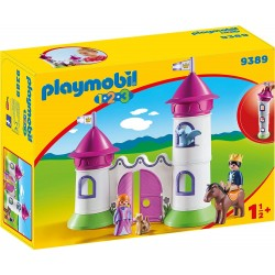 Playmobil 123 - Castillo con torre apilable