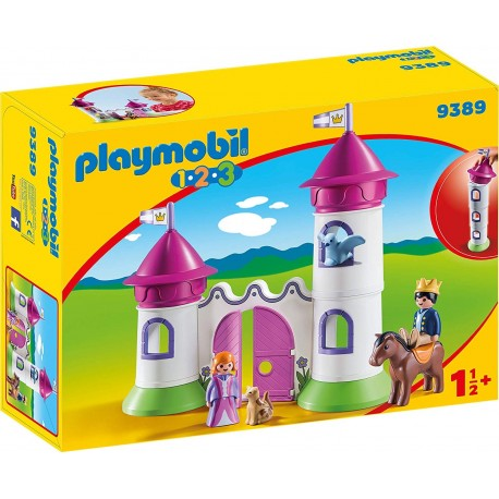 Playmobil 123 - Castillo con torre apilable