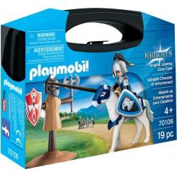 Playmobil Maletín de entrenamiento para caballero