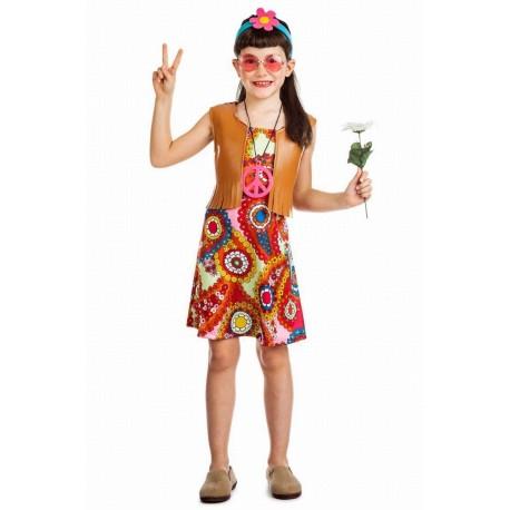 Disfraz hippie 3-4 años