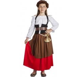 Disfraz mesonera medieval 3-4 años