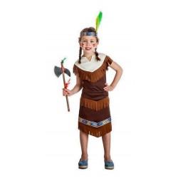 Disfraz india 7-9 años