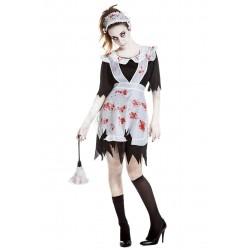 Disfraz sirvienta zombie M-L