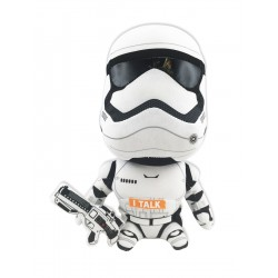 Star Wars - Peluche Sonidos Storm Trooper 25cm