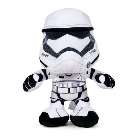 Peluche Star Wars 17cm - Trooper white