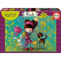 Puzzle Lilou Ketto - 300 pcs