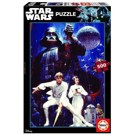Puzzle Star Wars Ep. IV- 500 pcs