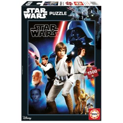 Puzzle Star Wars Ep. IV - 1500 pcs educa (17126)