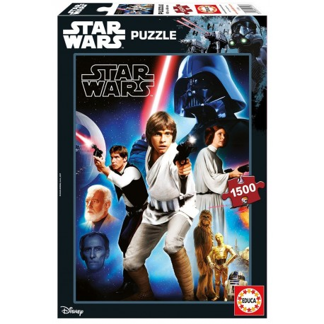 Puzzle Star Wars Ep. IV- 1500 pcs