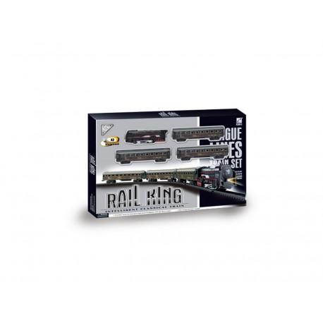 Pista tren pasajeros - Rail King