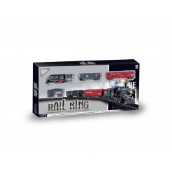 Pista tren mercancías - Rail King