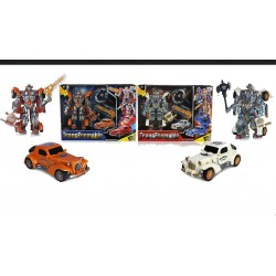 Transformer coche con luz