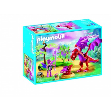 Playmobil dragon con bebe