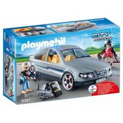 Playmobil Coche Civil de las Fuerzas Especiales