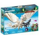 Playmobil Furia Diurna y Bebé Dragón con Niños