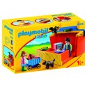 Playmobil 123 maletin mercado