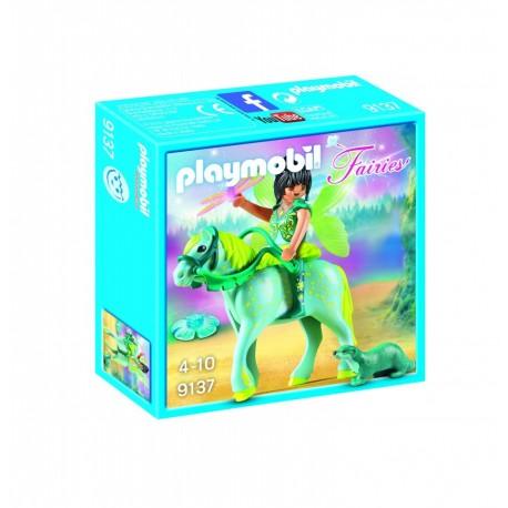 Playmobilhada con caballo