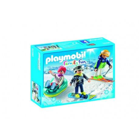 Playmobil deportes de invierno