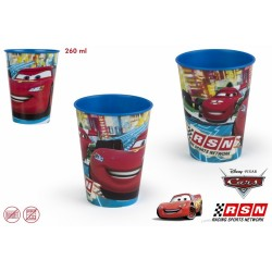 CARS VASO VALUE 260ML PLASTICO