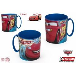 Cars taza microondas 350 ml