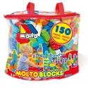 Bolsa bloques 150 piezas