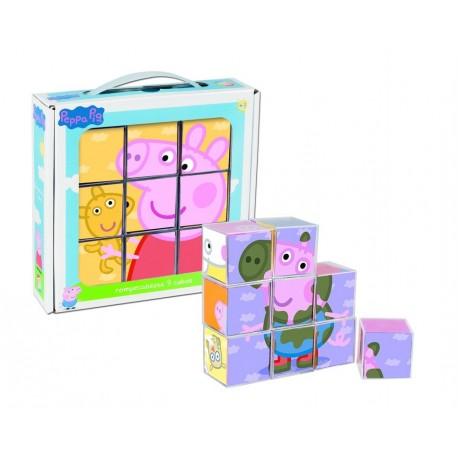 Peppa pig romp 9 cubos