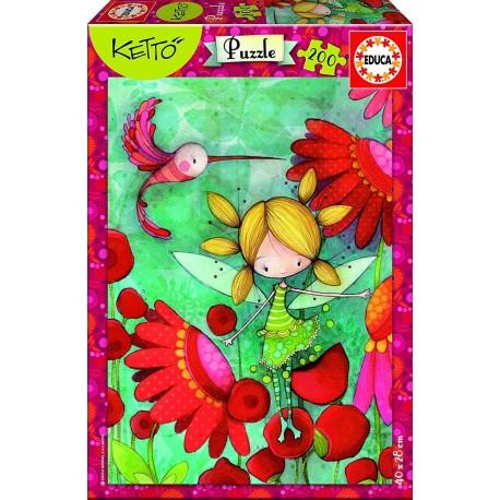 Puzzle Lilou Ketto - 200 pcs educa (17191)