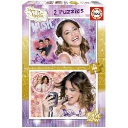 Puzzle Violetta 2x100 educa (16189)