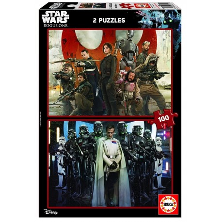 Puzzle Star Wars: Rogue One - 2x100 educa (17012)