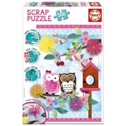 Puzzle Valentine Art Scrap - 500 pcs educa (16739)