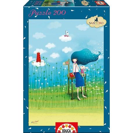Puzzle Beyond the sea Kori Kumi - 200 pcs educa (16726)