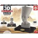 Puzzle 3D Escultura Nefertiti educa (16966)