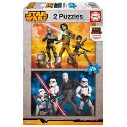 Puzzle Star Wars Rebels - 2x48 educa (16168)