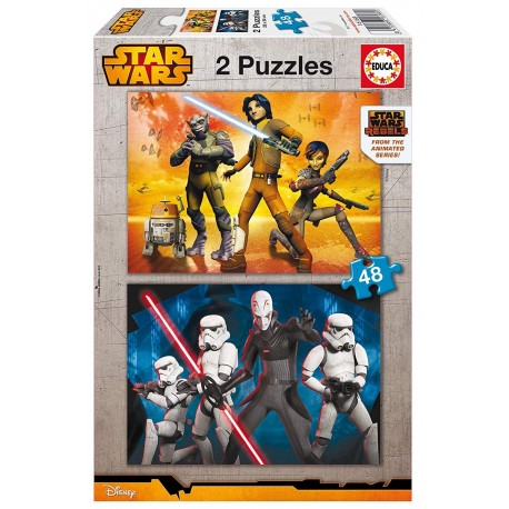 Puzzle Star Wars Rebels - 2x48 educa (16168)