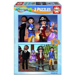 Puzzle Super 4 - 2x100 educa (17280)