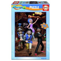 Puzzle Super 4 - 200 pcs educa (17281)