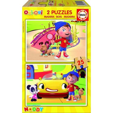 Puzzle madera Noddy - 2x25 educa (17161)